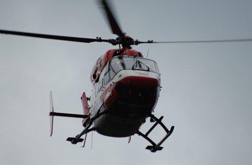 Ein Rettungshubschrauber flog den schwer verletzten Biker in eine Klinik. (Symbolfoto) Foto: Kamera24.tv