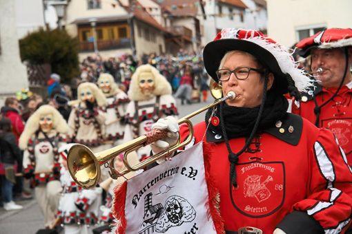 Die Stettener Narren feiern am Wochenende Jubiläum und hoffen auf viele Gäste. Foto: Kost