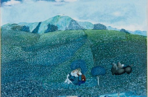 Karl Hurms phantastische Alb Sichten im Kunstmuseum Albstadt