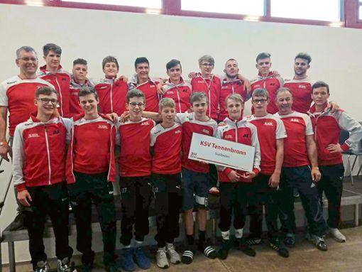 Die Mannschaft des KSV Tennenbronn  Foto: Privat Foto: Schwarzwälder Bote