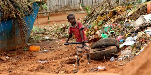 Ein Tropensturm verwüstet Mosambik.  Foto: Mukwazhi Foto: Schwarzwälder Bote