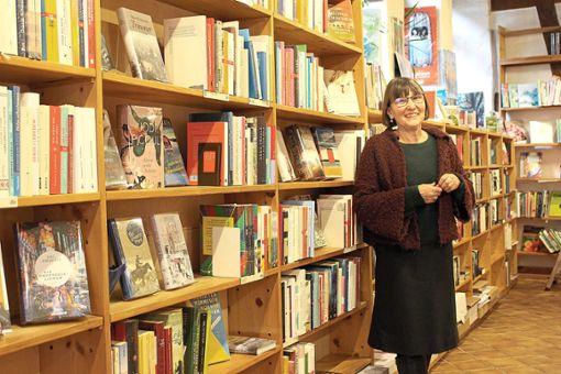 Irmgard Kolb schließt ihren Buchladen nach 36 Jahren.  Fotos: Alt Foto: Schwarzwälder Bote