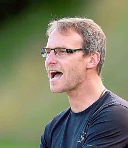 Markus Knackmuß ist nach 90 Minuten stolz auf sein Team. Foto: Kienzler