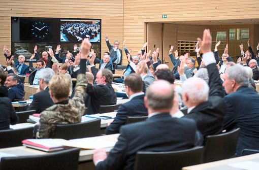 Am Donnerstag stimmen die Abgeordneten des Landtags bei der letzten Plenarsitzung des Jahres über das umstrittene Vorhaben ab. (Symbolfoto) Foto: Schwarzwälder Bote