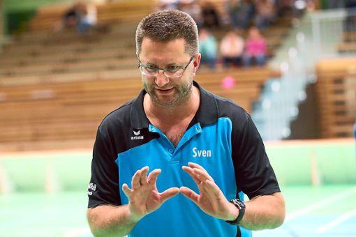 TV-Trainer Sven Johansson bereitet sein Team intensiv auf die neue Saison vor. Foto: Marc Eich