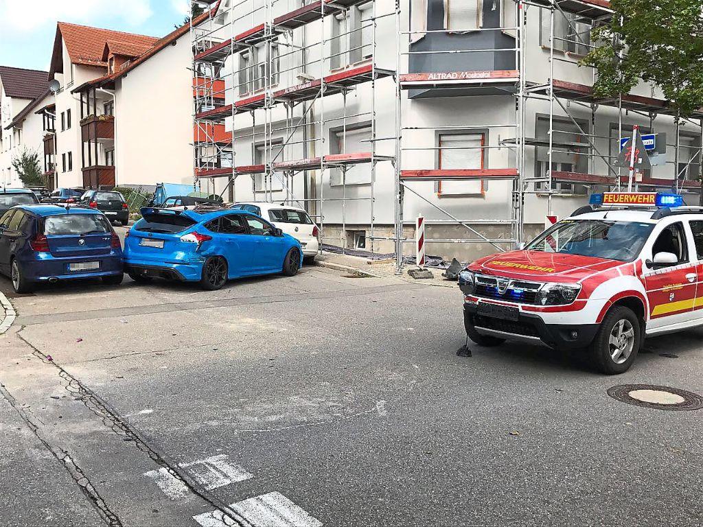 Villingen-Schwenningen: Autounfall bei Feuerwehreinsatz - Villingen ...