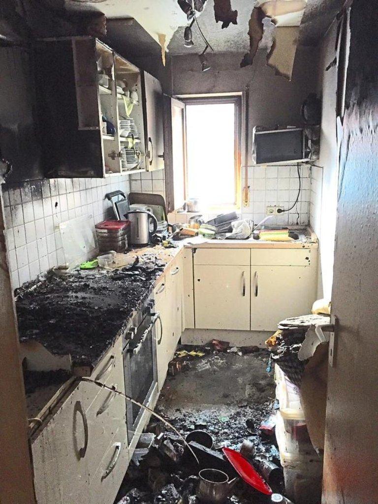Rottenburg: Mann bei Brand in Ergenzingen lebensgefährlich