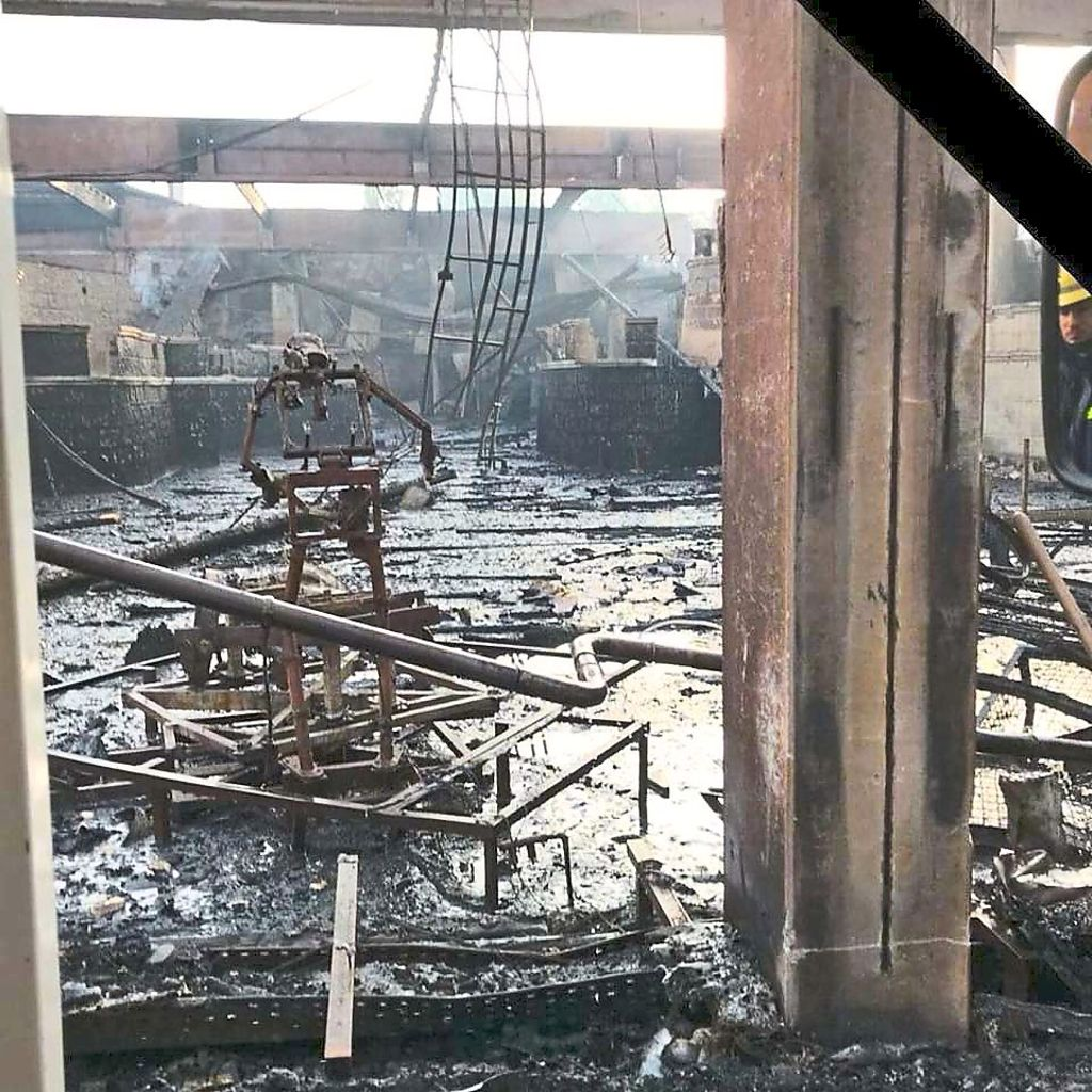 Brand Europapark Ursache