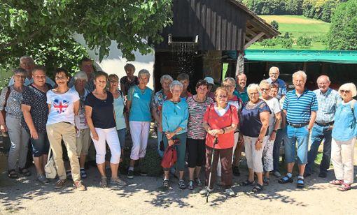Die VdK-Ortsgruppe Schörzingen hat einen Ausflug in den Schwarzwald unternommen.   Foto: Privat Foto: Schwarzwälder Bote