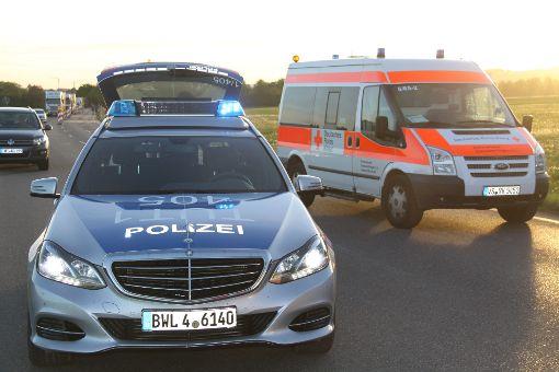Zwei Verletzte hat ein Unfall auf der B 31 zwischen Geisingen und Hüfingen gefordert. Foto: kamera24.tv