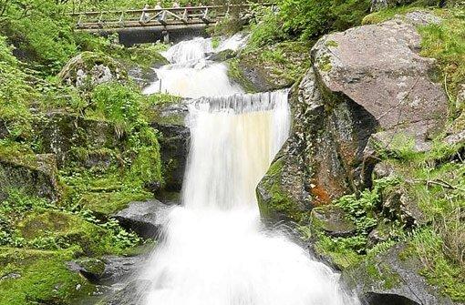 Die Triberger Wasserfälle sind ein beliebtes Ausflugsziel.  Foto: Kienzler