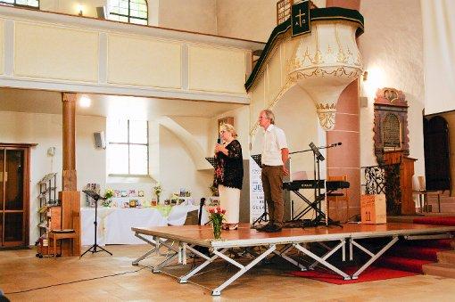 Marion und Christoph Koch erzählten aus der Zeit nach dem schweren Unfall ihres Sohnes. Foto: Kornfeld