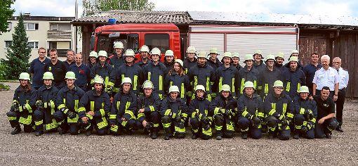 33 junge Wehrmänner und -frauen haben den Lehrgang zur Grundausbildung erfolgreich absolviert. Foto: ah