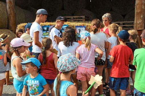Den Betrieb BioAlb Weidefleisch der Familie Schäfer in Schörzingen können Kinder am kommenden Freitag bei einer Hofrallye kennenlernen.  Foto: Privat Foto: Schwarzwälder Bote