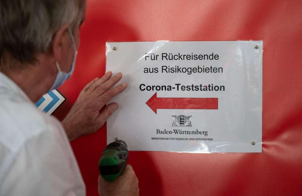 Corona Teststationen Baden Württemberg