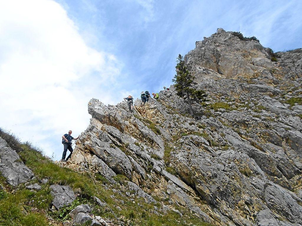 Klettersteig Tannheimer Tal : Neuweiler erkundung durchs tannheimer tal
