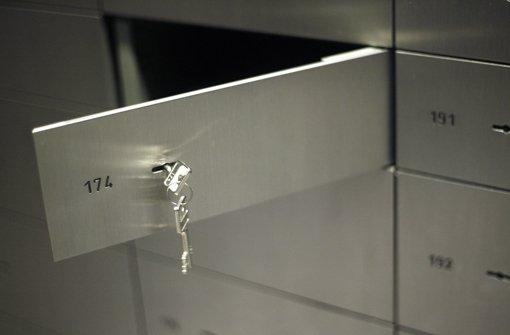 Das Geheimnis der Schließfächer wird gelüftet Foto: dpa