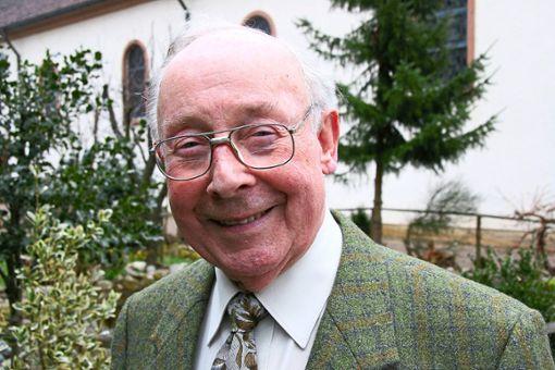 Der Oberwolfacher Alfred Allgaier ist im Alter von 88 Jahren  verstorben.   Foto: Bea Foto: Schwarzwälder Bote