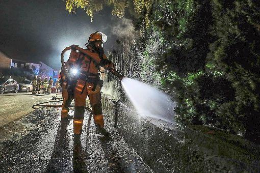 Der Feuerteufel hat in Villingen-Schwenningen wohl wieder zugeschlagen. Foto: Eich