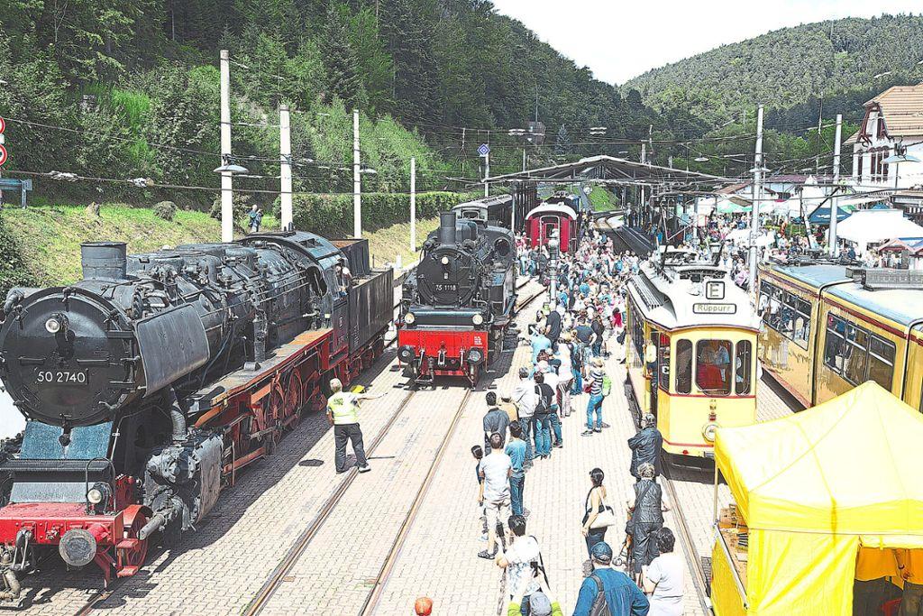 Bad Herrenalb Bahnhofsfest