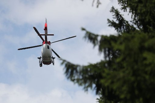Eines der Kinder wurde mit dem Rettungshubschrauber in eine Klinik geflogen. (Symbolbild)  Foto: Marc Eich