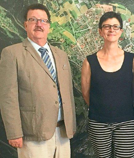 Sind sich in Sachen Tunnel einig: die beiden Bundestagsabgeordneten Hans-Joachim Fuchtel und Saskia Esken. Foto: Privat