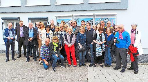 Nach 40 Jahren trafen sich ehemalige Texer zum Klassentreffen in Nagold  Foto: Roth Foto: Schwarzwälder-Bote