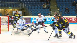 Eishockey: Happy End für Wild Wings in Krefeld