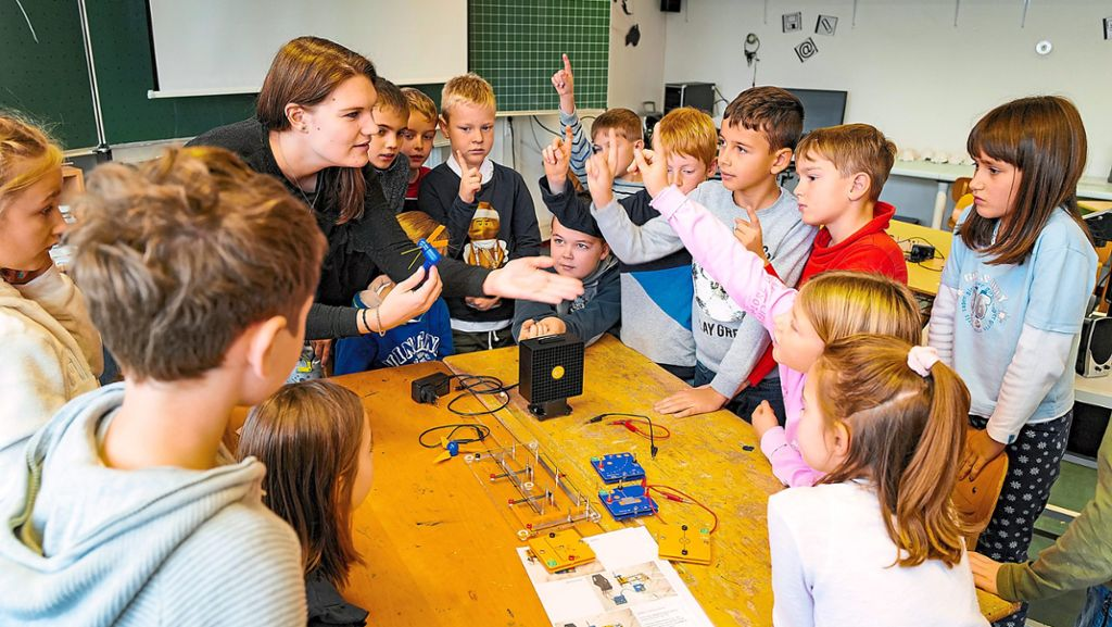 Nagold: Grundschüler lernen Energiesparen - Nagold - Schwarzwälder Bote