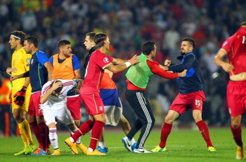 albanische spieler