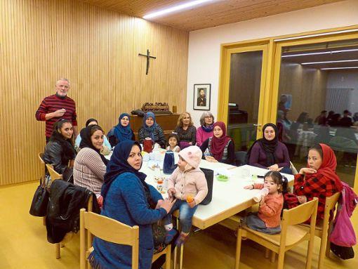 Im Familienhaus Martin Luther in Rottenburg findet freitags das Asylcafé Coffee to Stay statt.   Foto: Begemann Foto: Schwarzwälder Bote