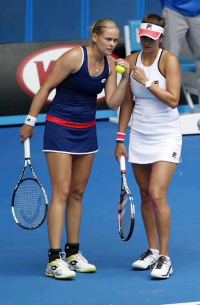 Sind Ins Doppel Halbfinale Der Australian Open Eingezogen Julia