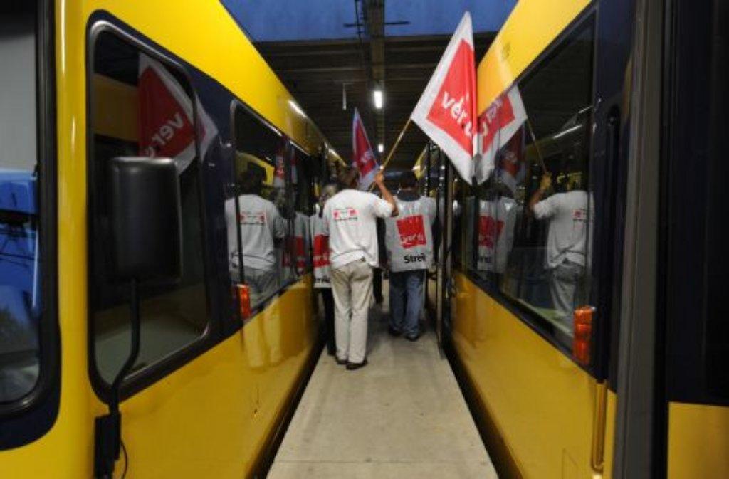 Stuttgart Bei Bus Und Stadtbahn Dreht Sich Kein Rad