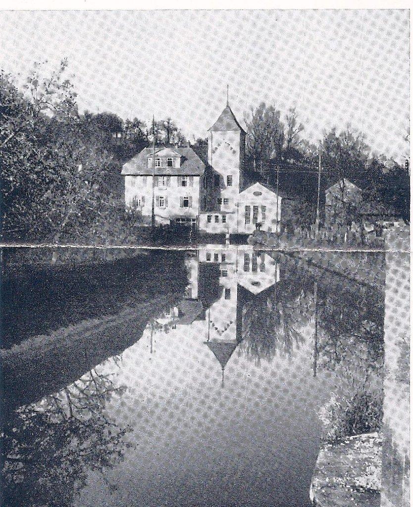 Das Nagolder E Werk Sorgte Dafür, Dass In Nagold Schon 1893 Strom. Aus