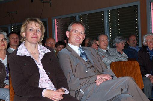Acht Jahre ist's her: Michael Maier mit seiner Frau Silke bei der Kandidatenvorstellung.   Foto: Archiv