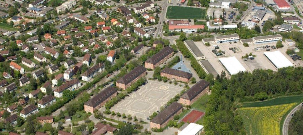 Im bereich des sportplatzes der ehemaligen kaserne soll for Haus musterplan