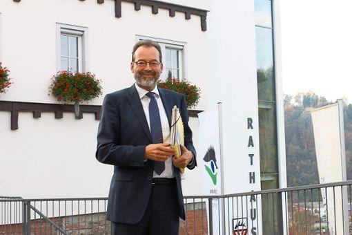 Ulrich Bünger will Bürgermeister vom Wildberg bleiben.  Archiv-Foto: M.Bernklau Foto: Schwarzwälder Bote
