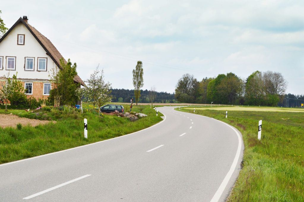 Auf der Strecke  zwischen Mariazell und Sulgen ist sicheres Radfahren bislang nicht möglich. Foto: Herzog Foto: Schwarzwälder Bote