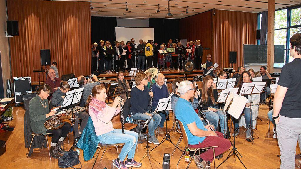 Nagold: Wenn Musiker harmonieren: Chor trifft auf Orchester - Nagold - Schwarzwälder Bote