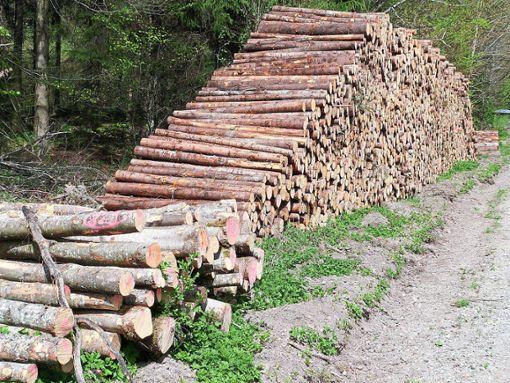 Ob Gemeinde-, Stadt oder Staatswald (Bild): Rund um Deißlingen wurde in den vergangenen Woche schwer geholzt.  Foto: Scheidel