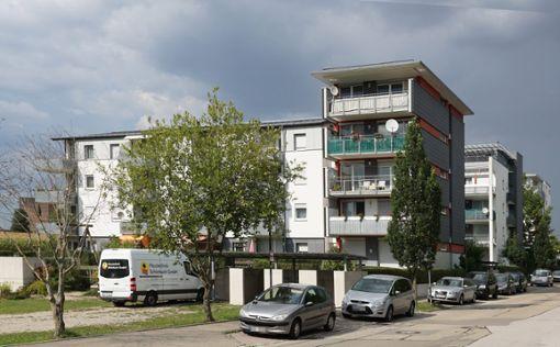 Wohnhäuser auf dem Hohenberg: Wolf Hoffmann für das Wohngebiet einen Kümmerer.  Foto: Lück
