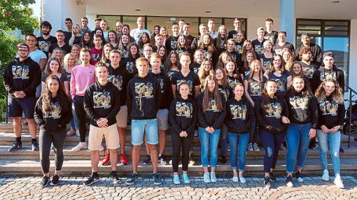 Die Abiturienten des Wirtschaftsgymnasiums der Kaufmännischen Schulen   Foto: Schule Foto: Schwarzwälder Bote