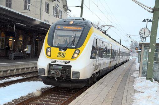 Ein Triebwagen des Typs Talent 2 wird am kommenden Sonntag auf den Namen Freudenstadt getauft.   Foto: Schwark