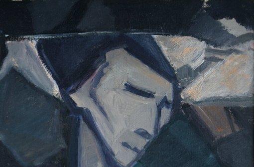 """In Böblingen zu sehen: Lily Hildebrandts """"Kubistischer Kopf"""" (1914 – 16, Ausschnitt).  Foto: Galerie"""