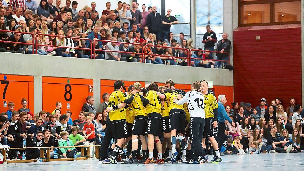handball tv st georgen sieben freunde m sst ihr sein handball schwarzw lder bote. Black Bedroom Furniture Sets. Home Design Ideas