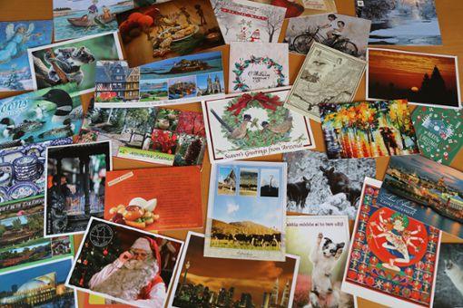 Über die Online Plattform Postcrossing werden Postkarten aus der ganzen Welt ausgetauscht.  Foto: Ulm Foto: Schwarzwälder Bote