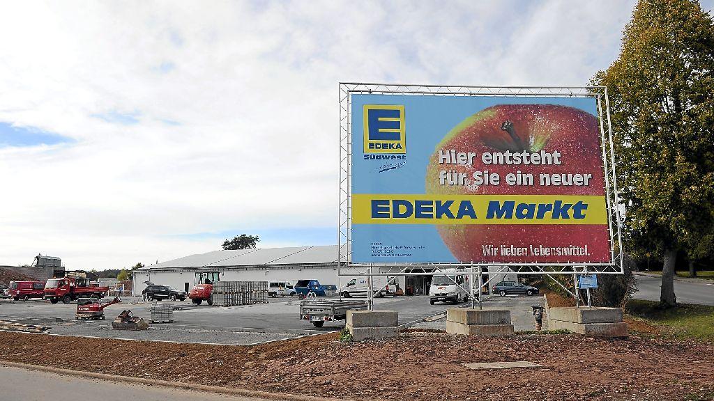 Neubulach: Edeka öffnet Ende November - Calw