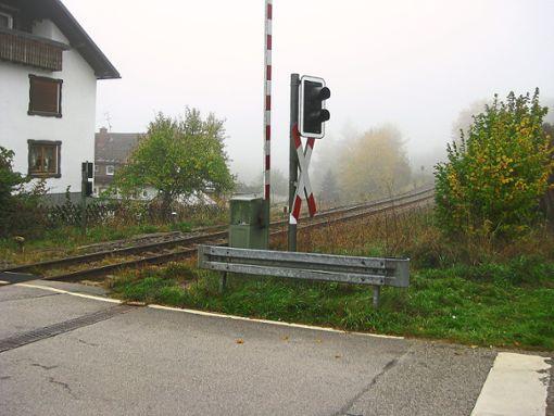 Die Gleise führen mitten durch Lauterbad. Doch einen Bahnhaltepunkt wird es in absehbarer Zeit nicht geben. Foto: Breitenreuter