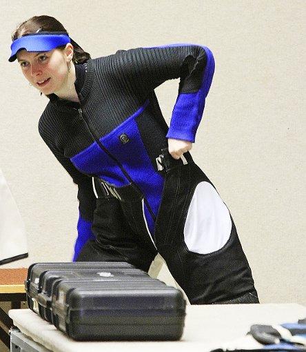 Ramona Gößler stellte wieder einmal ihre Klasse unter Beweis.   Foto: Kraushaar Foto: Schwarzwälder-Bote