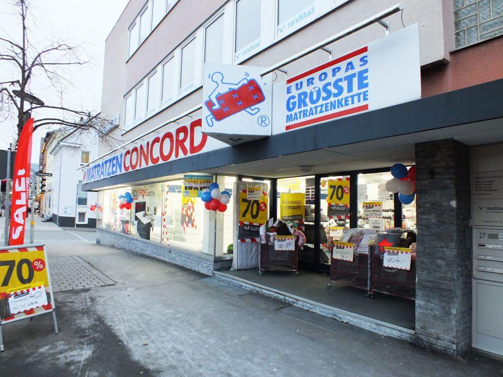 Albstadt: Matratzen Concord macht dicht - Albstadt ...